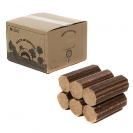 18 Boxes Of Normandy BEECH Briquettes For Log Stoves & Pizza Ovens