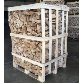 Kiln Dried OAK & BIRCH Logs Mixed Large Crate 50/50