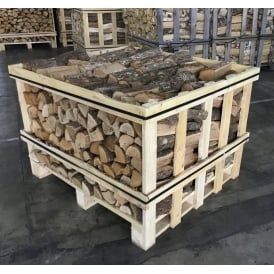 Kiln Dried OAK Logs Half Crate Combo Plus Six Nets Of Kindling