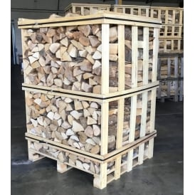 Kiln Dried OAK Logs Large Crate Combo Plus Six Nets Of Kindling
