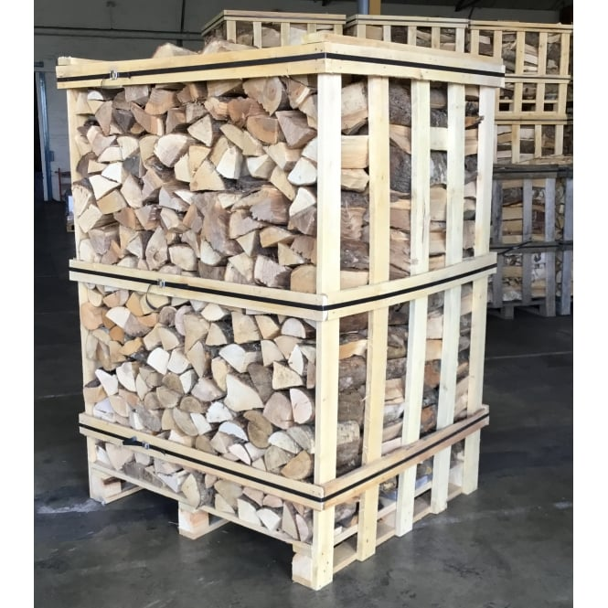 Kiln Dried OAK Logs Large Crate Of Dry Low Moisture Logs