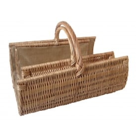 Scoop Open End Log Baskets Set Of Two